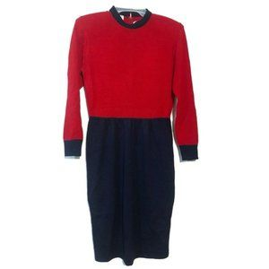 Vintage St. John Santana Knit Dress *with flaw*